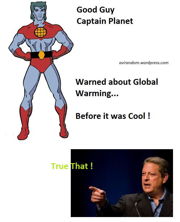 Warned about Global Warning, Before it was cool