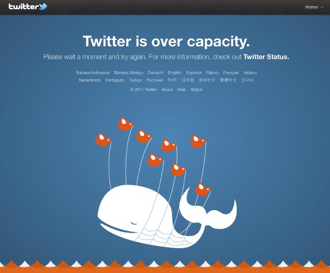 Twitter Overcapacity