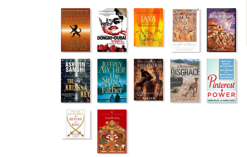 The books I have read this year