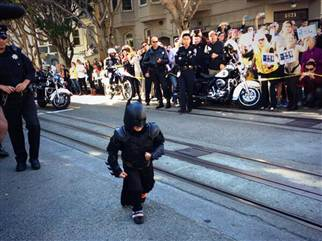 BatKid making his move