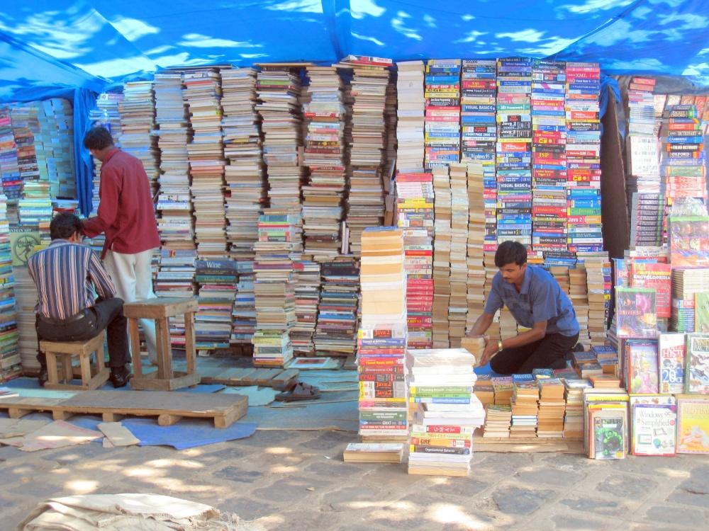 Street book sellers