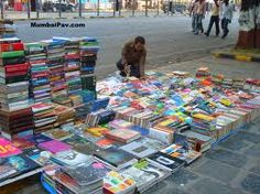 Book Sellers at Fort area in Bombay