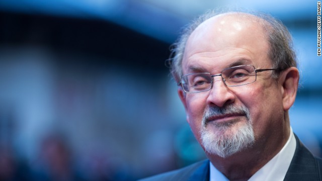 Salman Rushdie, file picture