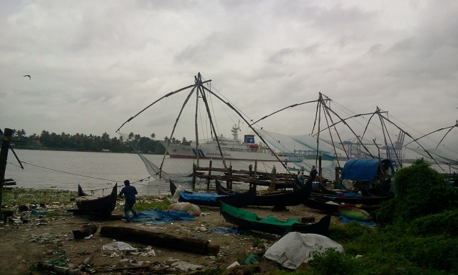 Fishing nets and some mess