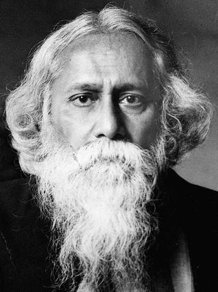 The legend, Rabindranath Tagore. Photo via The Hindu