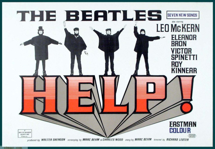 When in Beatlemania, you need Help !