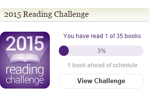 Reading challenge for 2015