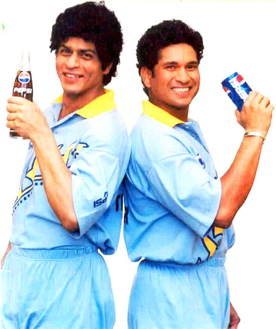 SRK SRT in pepsi commercial 1999