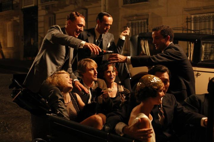 Still from Mid-night in Paris by Woody Allen