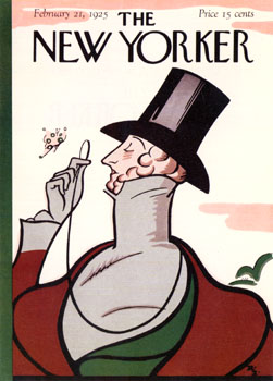 Released on 21st Feb, this is the first ever cover of The New Yorker Magazine