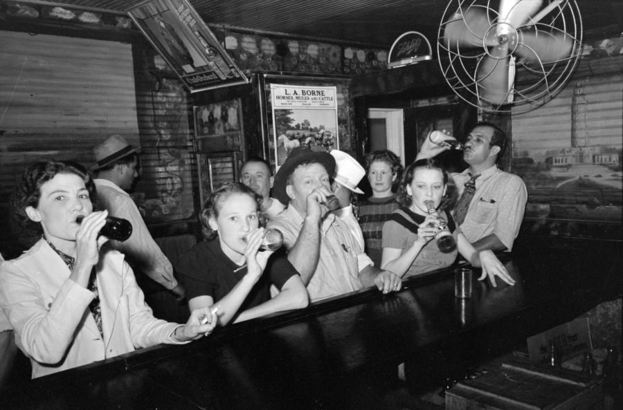 Pre-Prohibition Speakeasy